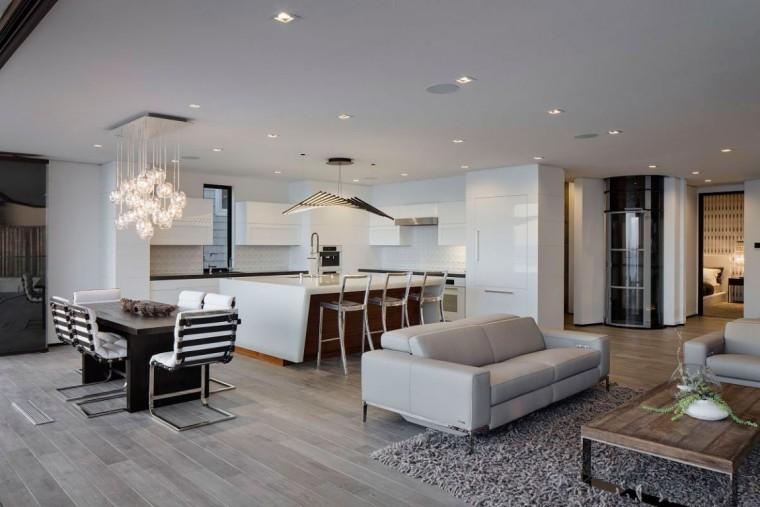 美国拉古娜滨海豪宅室内客厅实景-美国拉古娜滨海豪宅第14张图片