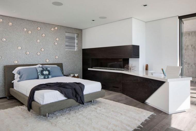 美国拉古娜滨海豪宅室内卧室实景-美国拉古娜滨海豪宅第19张图片