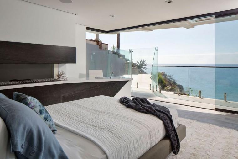美国拉古娜滨海豪宅室内卧室实景-美国拉古娜滨海豪宅第11张图片