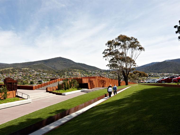 澳大利亚的新旧艺术博物馆