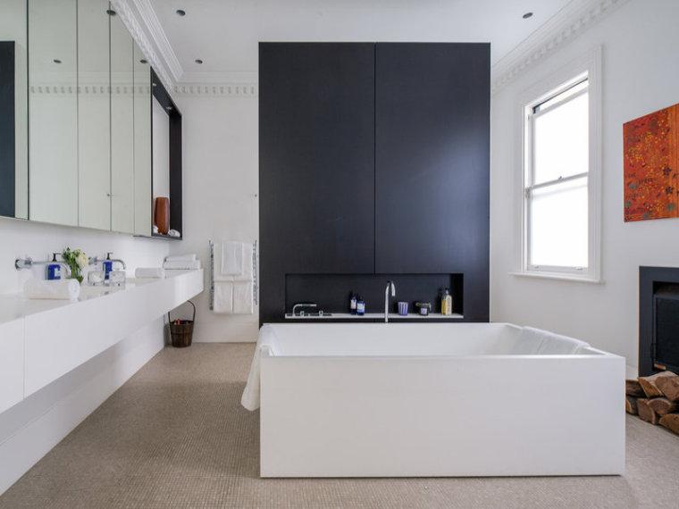 美国西海岸休闲度假别墅室内浴室-美国西海岸休闲度假别墅第8张图片