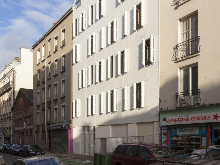 法国木制住宅楼