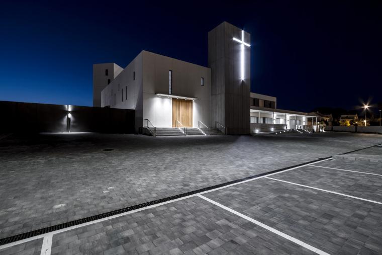 西班牙Santa皇家修道院外部夜景实-西班牙Santa皇家修道院第14张图片
