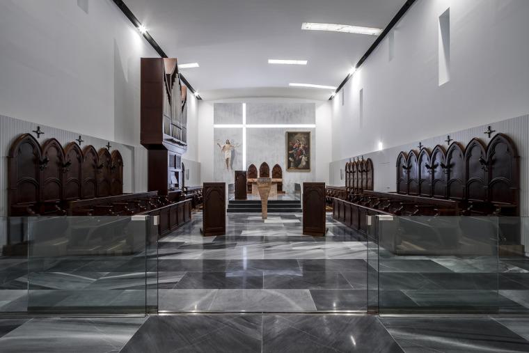 西班牙Santa皇家修道院内部实景图-西班牙Santa皇家修道院第16张图片