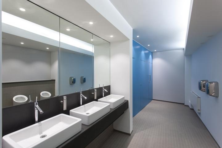 英国公主大街55号办公室室内洗手-英国公主大街55号办公室第7张图片