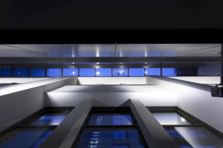 英国公主大街55号办公室夜景实景-英国公主大街55号办公室第8张图片