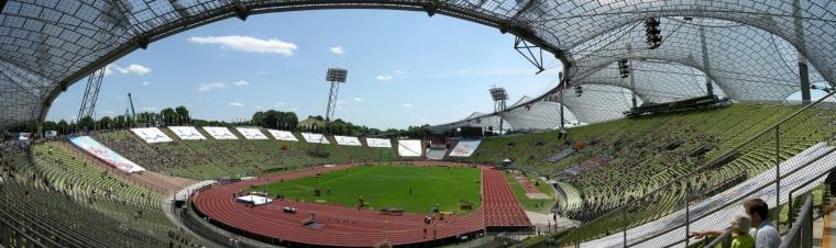 慕尼黑奥林匹克体育场局部实景图-慕尼黑奥林匹克体育场第14张图片