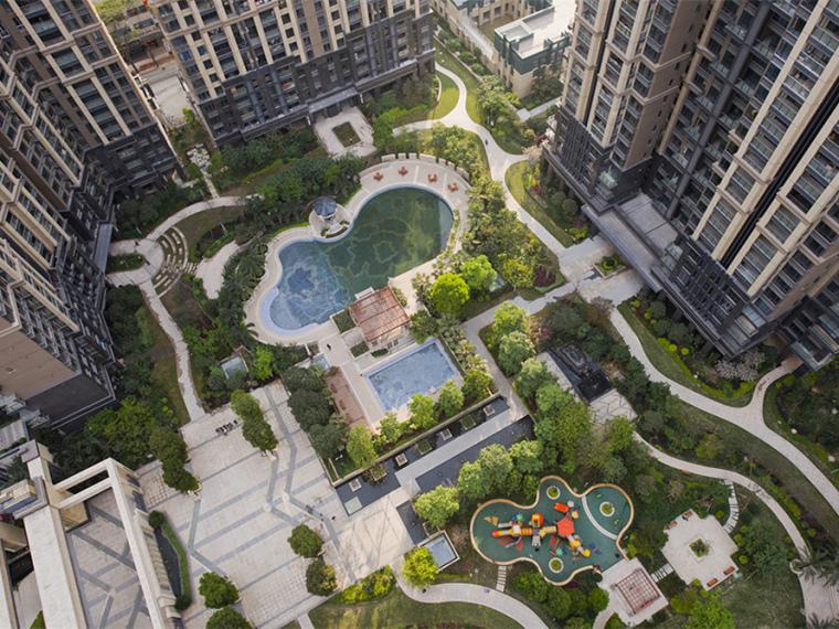 深圳中央公园高档居住区景观