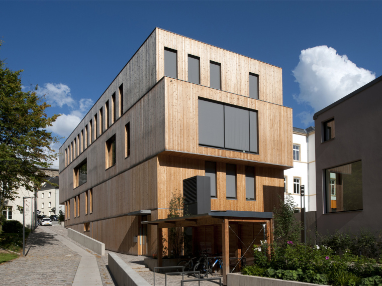 卢森堡生态中心行政大楼