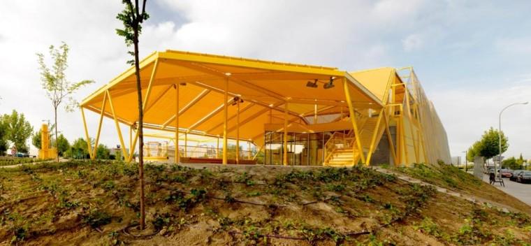 西班牙生态城广场外部实景图-西班牙生态城广场第2张图片