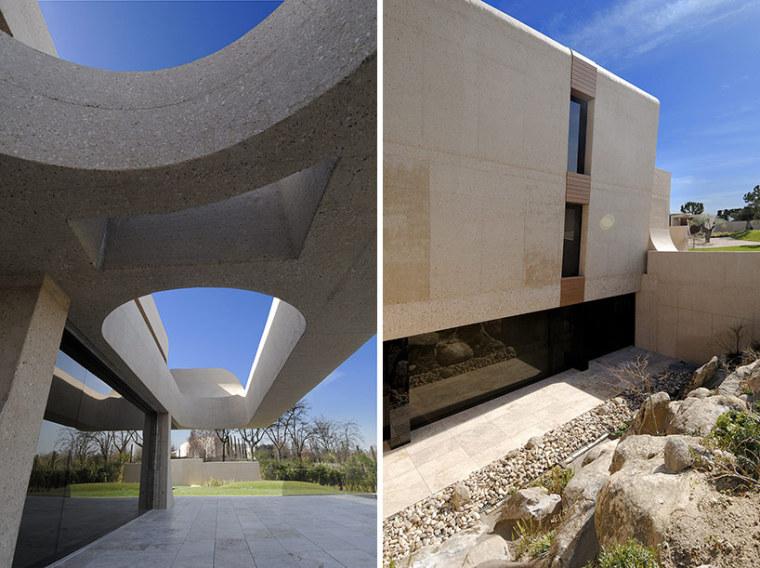 西班牙mocha住宅翻新外部局部实景-西班牙mocha住宅翻新第10张图片
