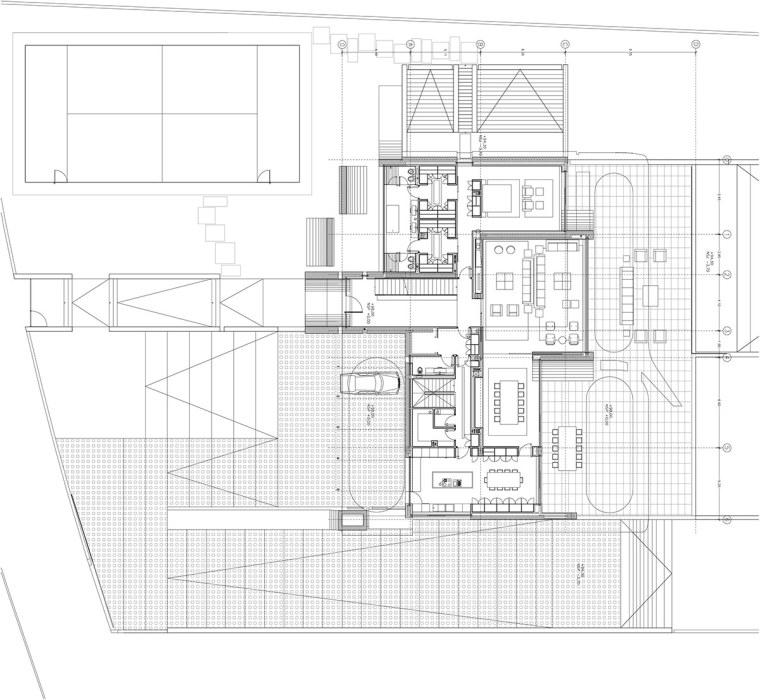 西班牙mocha住宅翻新平面图-西班牙mocha住宅翻新第20张图片