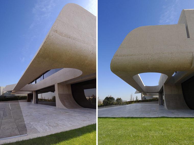 西班牙mocha住宅翻新外部侧面实景-西班牙mocha住宅翻新第8张图片
