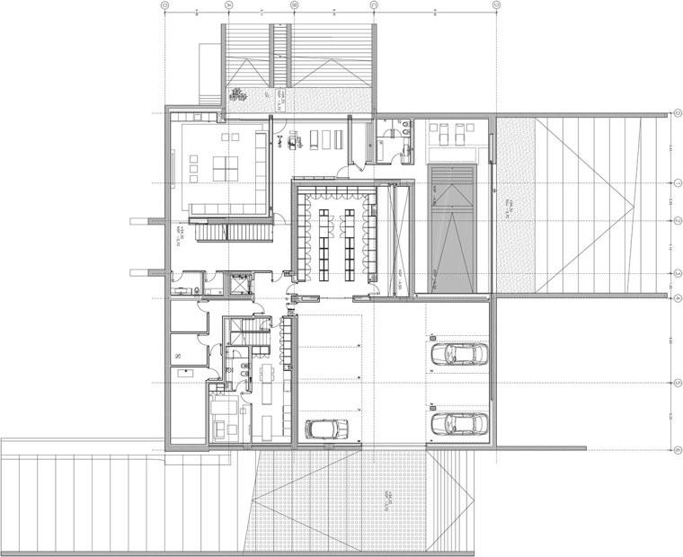 西班牙mocha住宅翻新平面图-西班牙mocha住宅翻新第22张图片