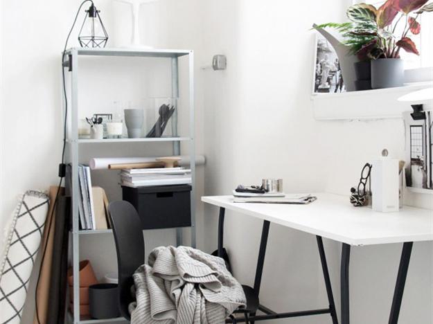 纯色办公空间