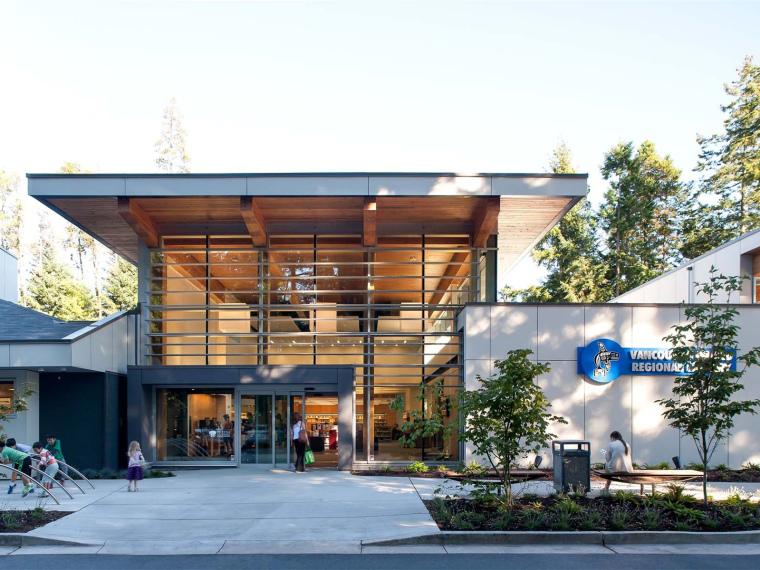 Varina地区图书馆资料下载-加拿大温哥华岛地区图书馆