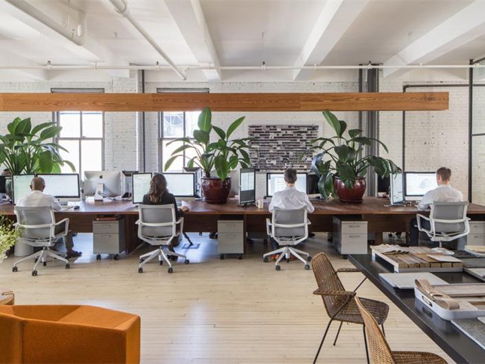 it公司办公室设计资料下载-美国INC设计公司办公室