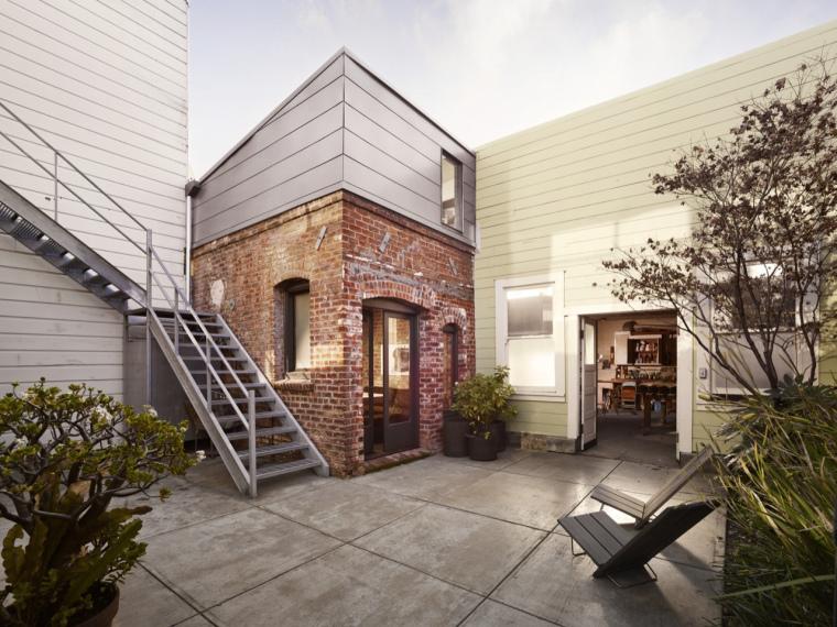 美国旧金山砖屋