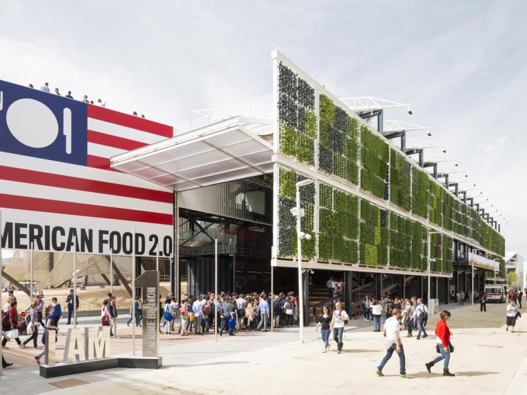 2015年米兰世博会美国馆