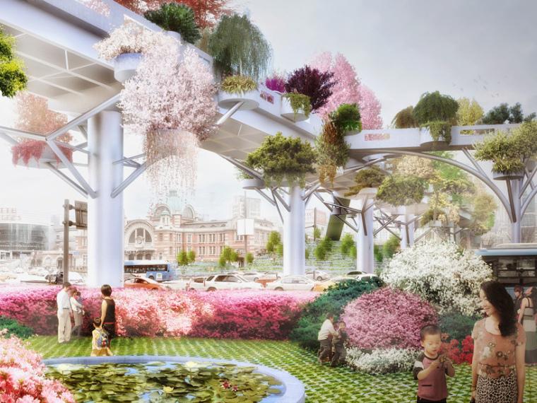 韩国首尔空中花园