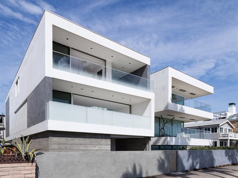 美国曲折型住宅