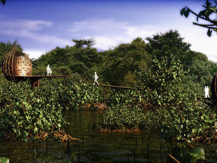 新加坡Sungei Buloh湿地公园