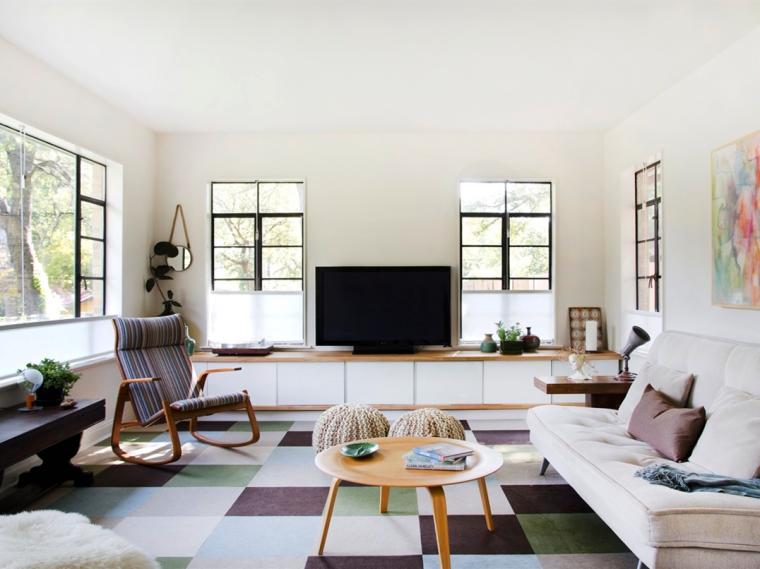 又酷又简洁的现代客厅