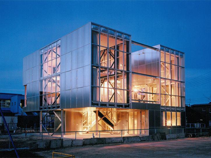 日本箱型钢架住宅