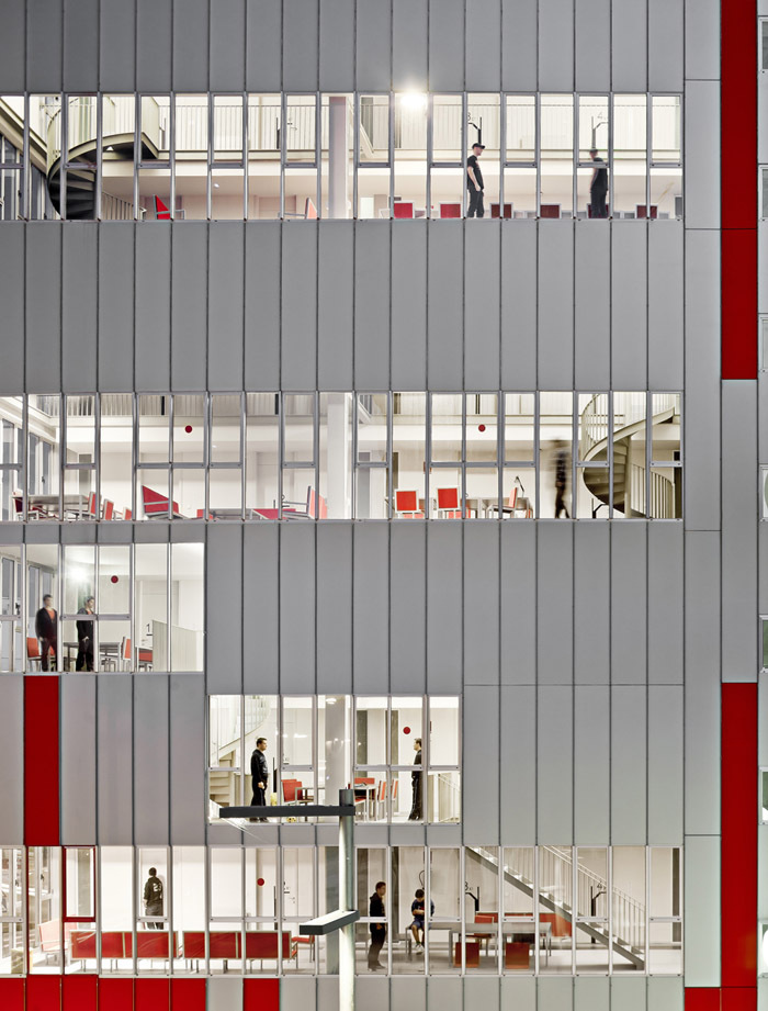 西班牙瓦伦西亚住宅综合体外部局-西班牙瓦伦西亚住宅综合体第6张图片