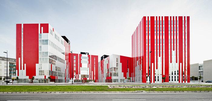 西班牙瓦伦西亚住宅综合体外部实-西班牙瓦伦西亚住宅综合体第2张图片