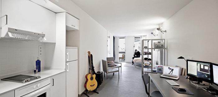 西班牙瓦伦西亚住宅综合体内部实-西班牙瓦伦西亚住宅综合体第8张图片