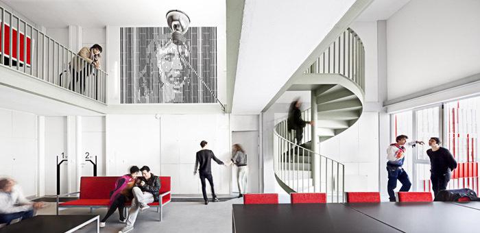 西班牙瓦伦西亚住宅综合体内部实-西班牙瓦伦西亚住宅综合体第10张图片