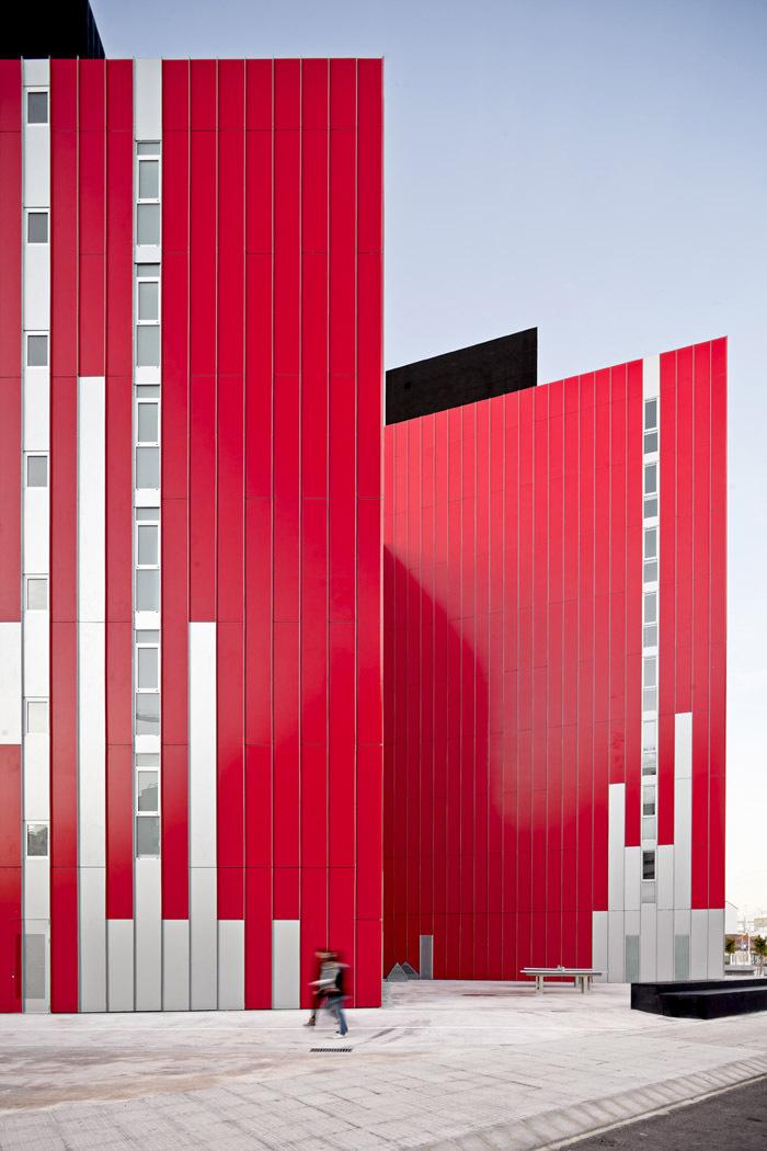 西班牙瓦伦西亚住宅综合体外部实-西班牙瓦伦西亚住宅综合体第5张图片