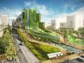 韩国Seun城市综合体步道