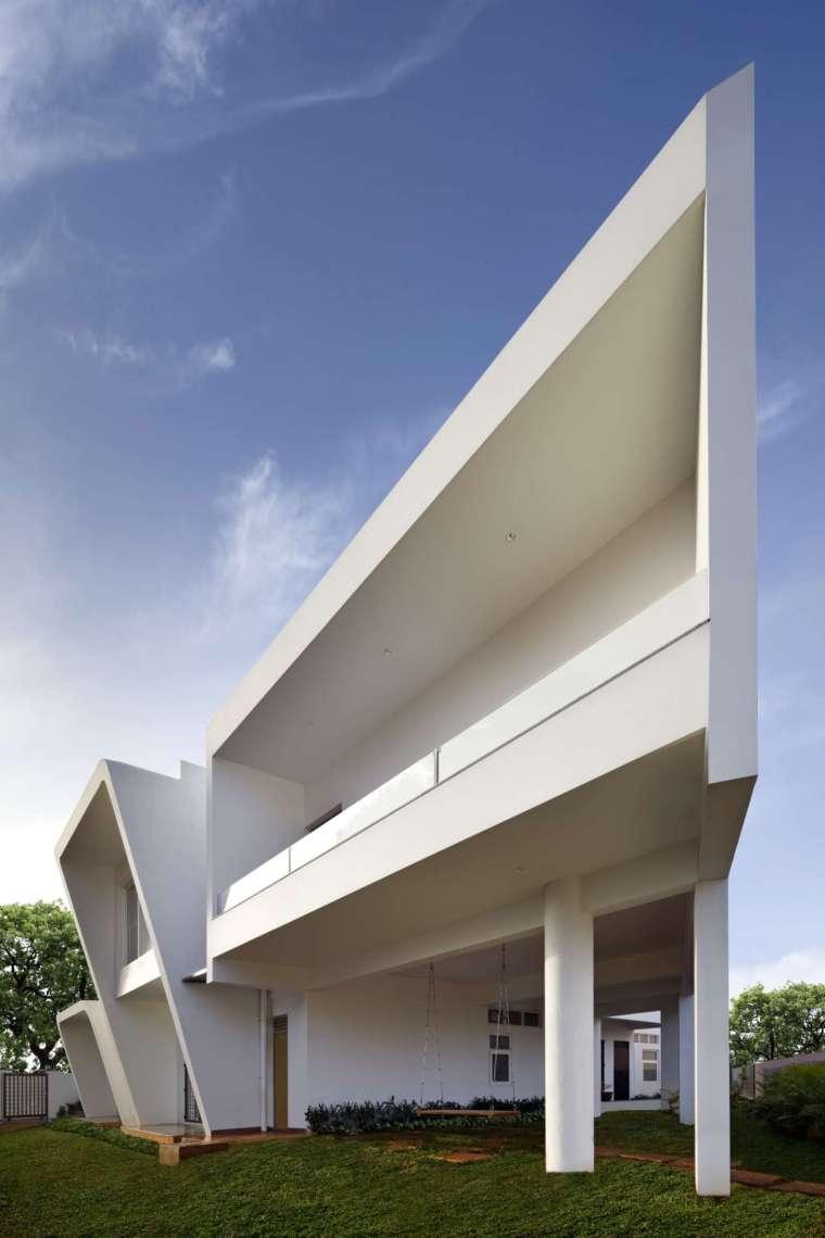 印度班加罗尔四合院住宅外部实景-印度班加罗尔四合院住宅第2张图片