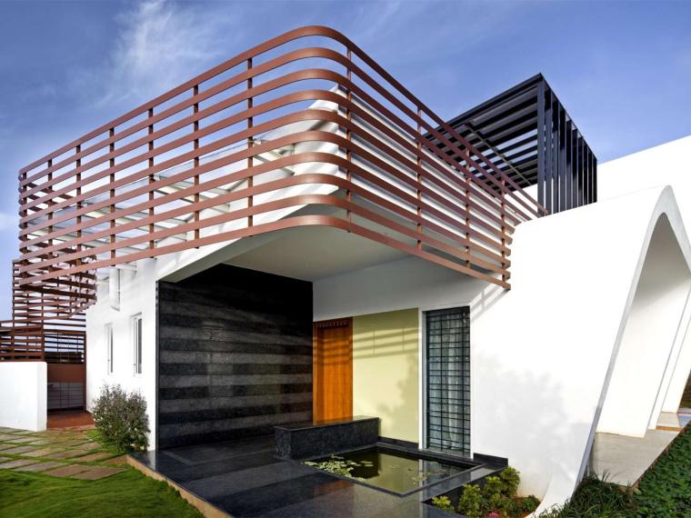 印度班加罗尔四合院住宅第1张图片