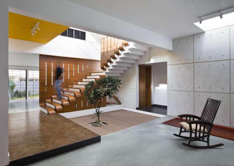 印度班加罗尔四合院住宅内部实景-印度班加罗尔四合院住宅第6张图片