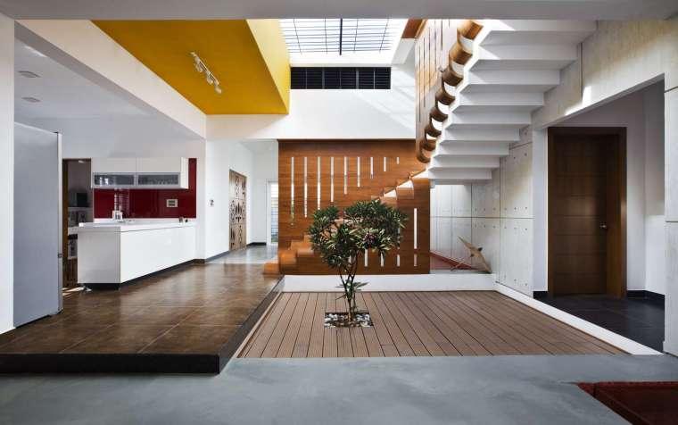 印度班加罗尔四合院住宅内部实景-印度班加罗尔四合院住宅第7张图片