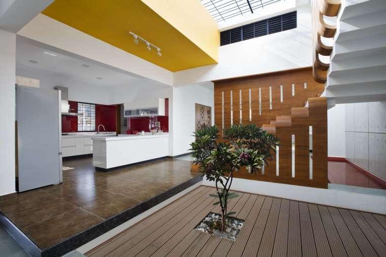 印度班加罗尔四合院住宅内部实景-印度班加罗尔四合院住宅第9张图片