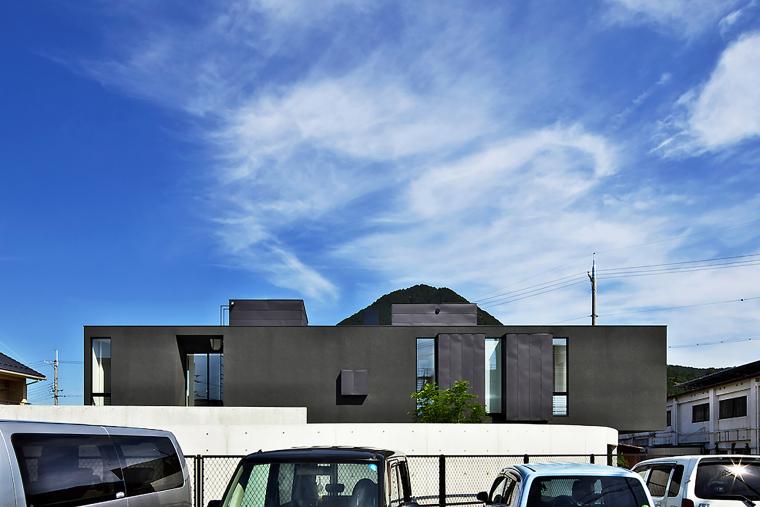 日本悬浮住宅外部实景图-日本悬浮住宅第16张图片