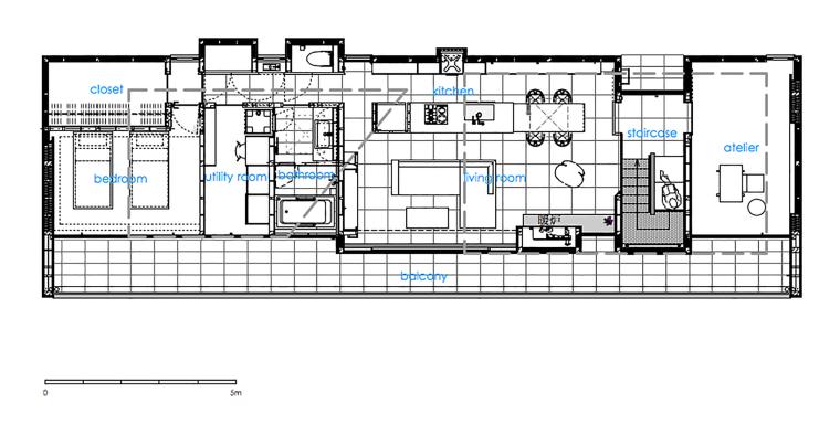 日本悬浮住宅平面图-日本悬浮住宅第49张图片