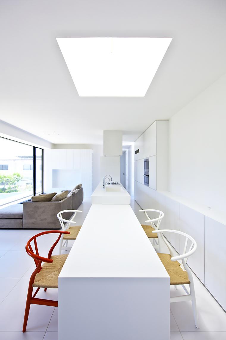 日本悬浮住宅外部内部厨房实景图-日本悬浮住宅第31张图片