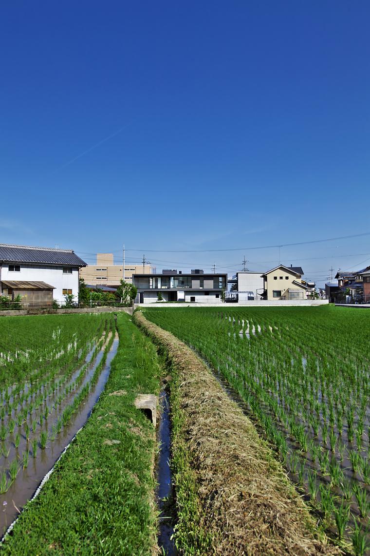 日本悬浮住宅外部实景图-日本悬浮住宅第2张图片
