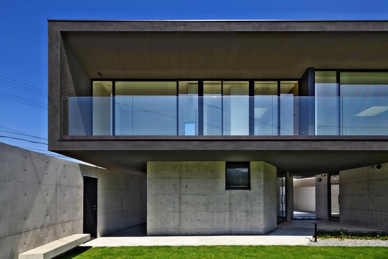 日本悬浮住宅外部实景图-日本悬浮住宅第3张图片