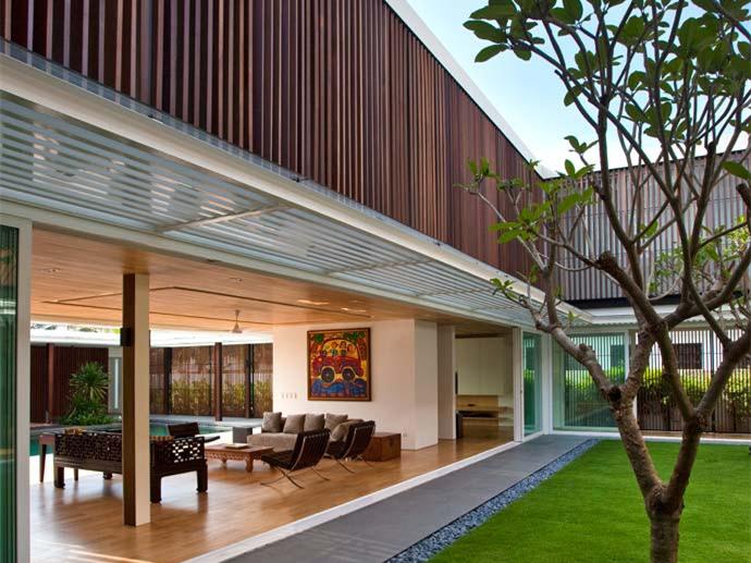 新加坡开放式私人别墅