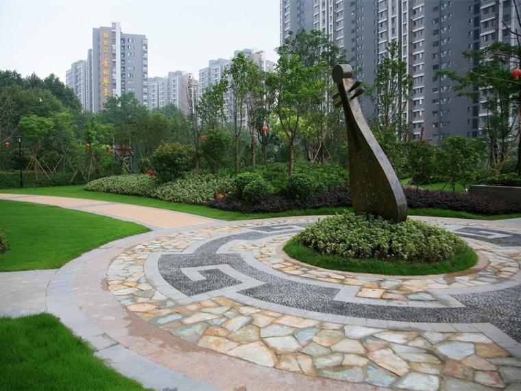 武汉香榭琴台小区景观