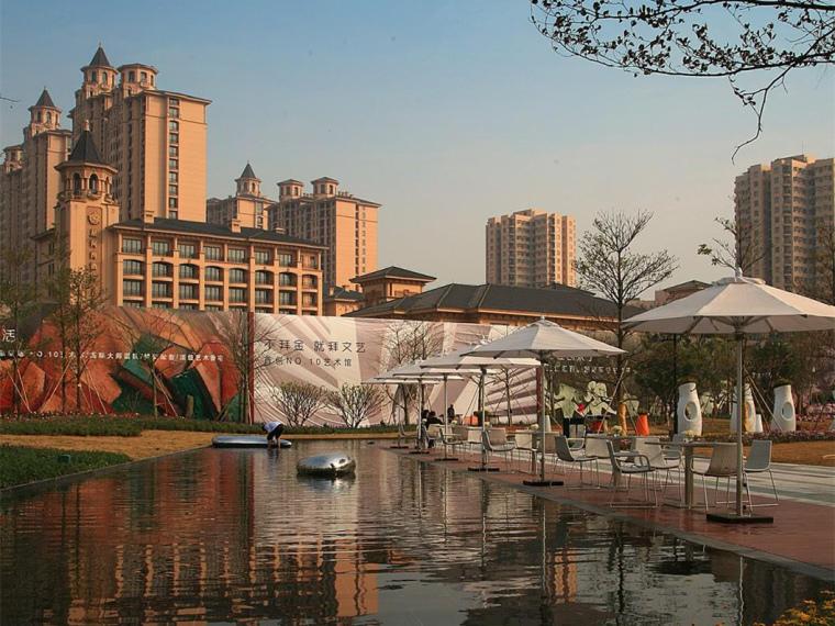 广州时代外滩豪宅景观