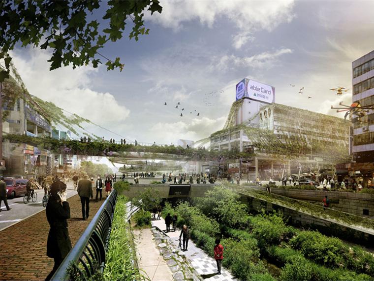 韩国城市绿色空间