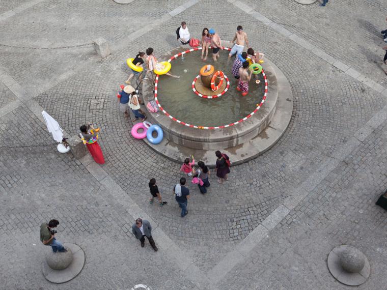 葡萄牙Hacks游乐喷泉
