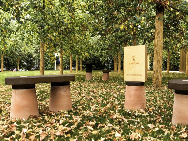 2015年米兰世博会中的私人公园